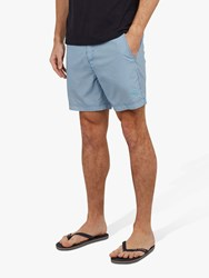 Ted Baker Seel Stripe Swim Shorts Blue