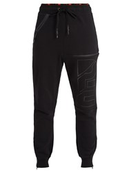 P.E Nation In Field Track Pants Black