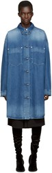 Maison Martin Margiela Blue Long Denim Jacket