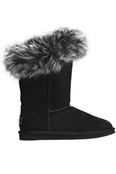 Australia Luxe Collective Foxy Shearling Boots Black