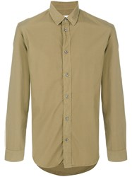 Maison Martin Margiela Classic Fitted Shirt Green