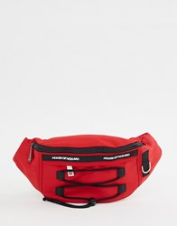House Of Holland Bum Bag Red Nylon