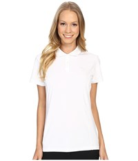 Puma Pounce Polo Bright White Women's Short Sleeve Pullover