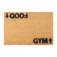 Artsy Doormats Food Gym Door Mat