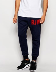 G Star G Star Sweat Pants Grount Tapered Cuffed In Saru Blue Blue
