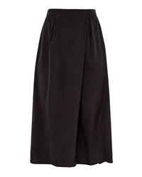 Ted Baker Agney Wrap Front Culottes Black