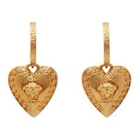 Versace Gold Love Medusa Earrings