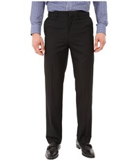 Dockers Flat Front Straight Fit Black Men's Casual Pants