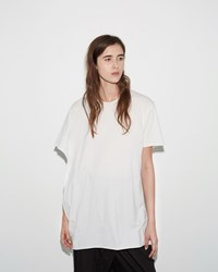 Lost And Found Rooms Draped Tee White