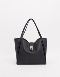 Carvela Slouchy Tote Bag In Black