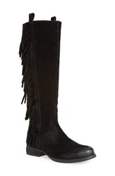Women's Steven By Steve Madden 'Dallton' Tall Fringe Boot 2' Heel