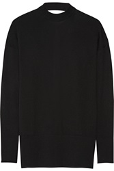Just Cavalli Open Back Wool Sweater Black