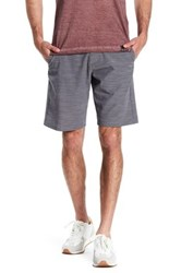 Burnside Marled Stretch Short Gray