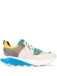 Dondup Panelled Sneakers Multicolour