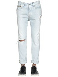 Calvin Klein Jeans 17Cm Destroyed And Bleached Denim