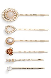 Cara 6 Pack Assorted Bobby Pins