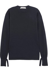 Dion Lee Cutout Cashmere Sweater Navy Usd