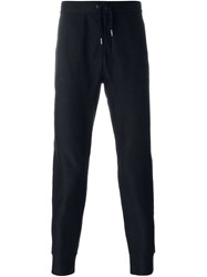 John Varvatos Gathered Ankle Slim Trousers Black