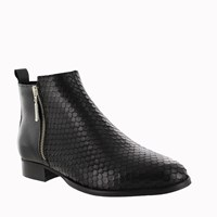 Marta Jonsson Women S Ankle Boot With Zip Black