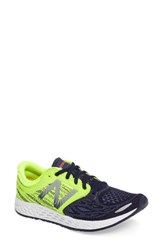 New Balance Women's Zante V3 Running Shoe Navy Green Denim