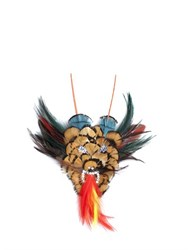 Nana Firenze Limit.Ed Dragon Head Shaped Feather Pin