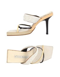Diego Dolcini Sandals Light Yellow