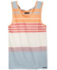 Ocean Current Men's Nemo Snow Stripe Tank Newport Blue