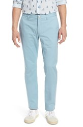 Bonobos Tailored Fit Washed Stretch Cotton Chinos Yucca Blue