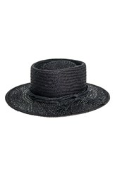 Peter Grimm Borden Straw Resort Hat Black