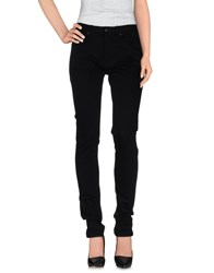 Hugo Boss Denim Denim Trousers Women Black
