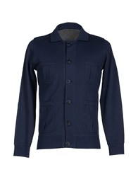 Alpha Massimo Rebecchi Topwear Sweatshirts Men Dark Blue