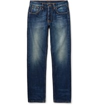 Nudie Jeans Steady Eddie Denim Mid Denim