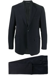Canali Fitted Two Piece Suit 60