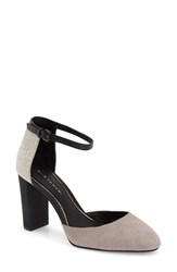 Women's Elie Tahari 'Essex' Ankle Strap Pump 3 1 2' Heel