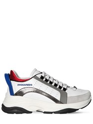 Dsquared 551 Bumpee Leather Low Top Sneakers White