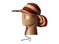 San Diego Hat Company Rbl4783 4.5 Sun Brim Hat With Adjustable Chin Cord Red Caps