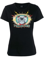 'Pinkoland' T Shirt Black