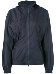 Adidas By Stella Mccartney Hooded Jacket Polyester Grey