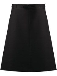 Red Valentino Redvalentino Bow Detail Belted Skirt 60