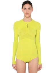 Unravel Technical Seamless Stretch Body Yellow