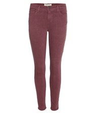 Current Elliott The Stiletto Jeans Red
