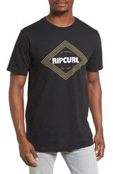 Rip Curl Men's Coney Classic Graphic T Shirt Black