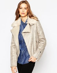 Urbancode Aviator Coat With Faux Fur Collar Frozenandlambsy