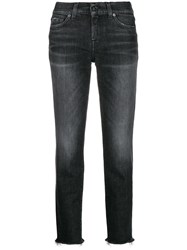7 For All Mankind Roxanne Cropped Jeans 60