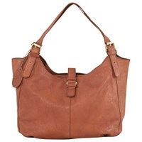 White Stuff Genoa Leather Slouch Hobo Bag Tan