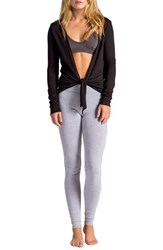 Women's Lamade Convertible Cardigan Black