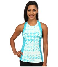 New Balance Tournament Racerback Top Sea Glass White Women's Sleeveless