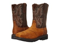 Ariat Sierra Wide Square Aged Bark Cowboy Boots Brown