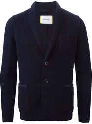 Iceberg Knitted Blazer Blue