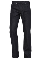 Hugo Boss Green Maine Straight Leg Jeans Dark Blue